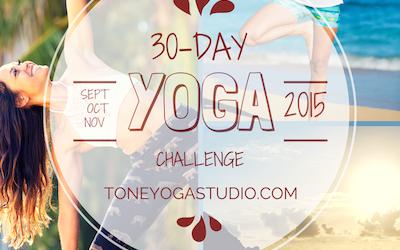 30-Day Yoga Challenge
