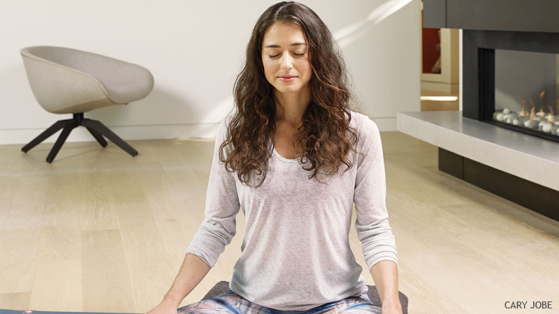 Why You Need a Restorative Yoga Practice This Winter