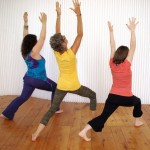 Yoga with friends at Tone Studio, Owen Sound