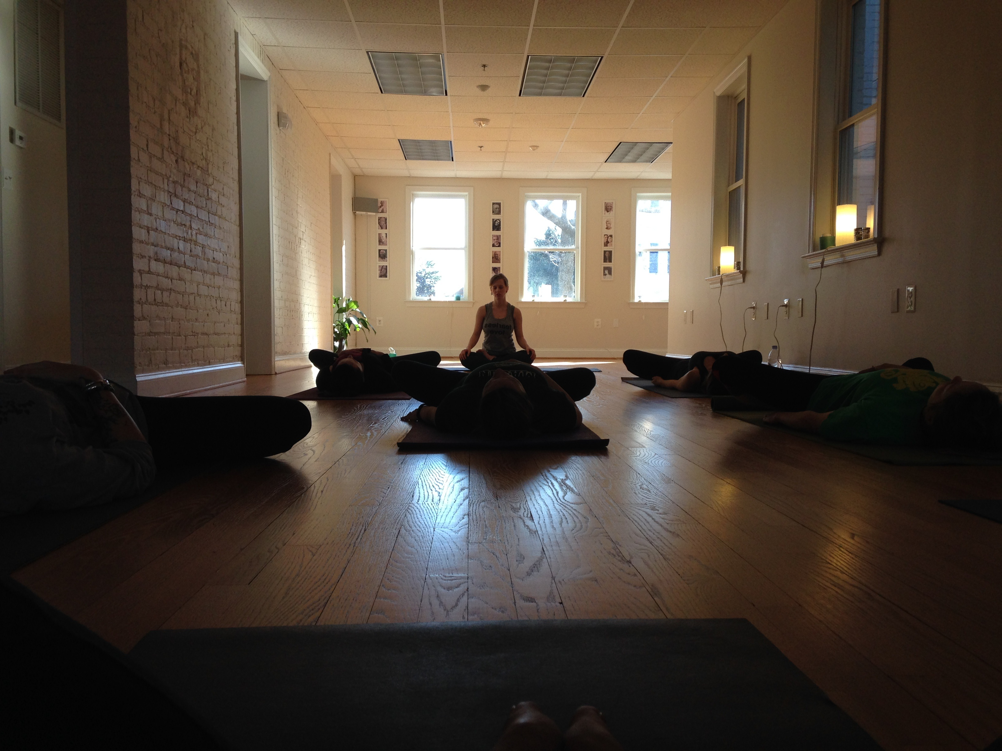 restorative yoga with Tracy Young