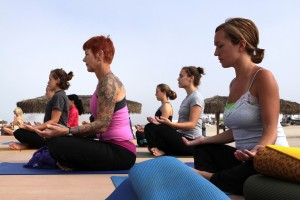 meditation practice, women, group