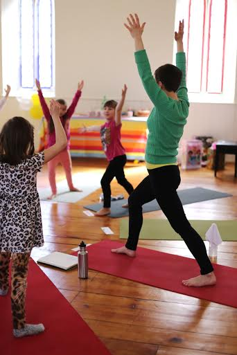 Yoga for Kids with Becky Thorne/ Birthday Party